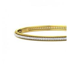 Diamond Bangles 3.00 CT / 18.50 gm Gold