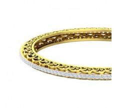 Diamond Bangles 2.80 CT / 23.50 gm Gold