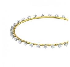 Diamond Bangles 1.44 CT / 8.90  gm Gold