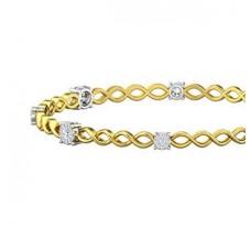 Diamond Bangles 0.84 CT / 11.67  gm Gold