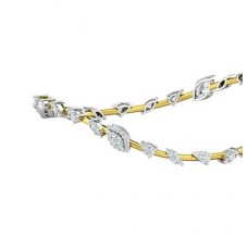 Diamond Bangles 1.95 CT / 13.84  gm Gold