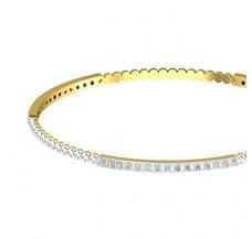 Diamond Bangles 1.80 CT / 10.41  gm Gold