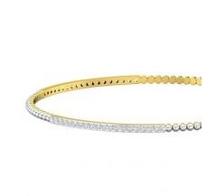 Diamond Bangles 1.14 CT / 7.49  gm Gold
