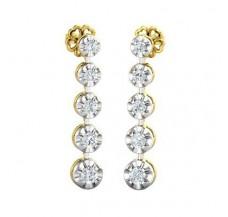 Diamond Earrings 0.54 CT / 4.00 gm Gold