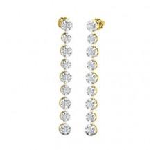 Diamond Earrings 1.20 CT / 7.70 gm Gold