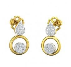 Diamond Earrings 0.22 CT / 2.74 gm Gold