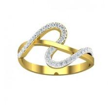 Diamond Designer Ring 0.22 CT / 2.109 gm Gold