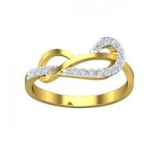 Diamond Designer Ring 0.17 CT / 1.96 gm Gold