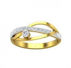 Diamond Designer Ring 0.20 CT / 1.80 gm Gold