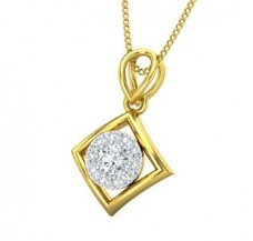 Diamond Pendant 0.27 CT / 1.25 gm Gold