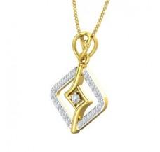 Diamond Pendant for Men 0.20 CT / 2.20 gm Gold