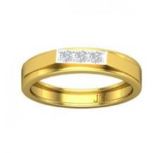 Diamond Band for Men 0.21 CT / 4.60 gm Gold