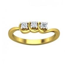 Diamond Ring 0.19 CT / 2.50 gm Gold
