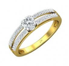 PreSet Solitaire Ring 0.55 CT / 2.93 gm Gold