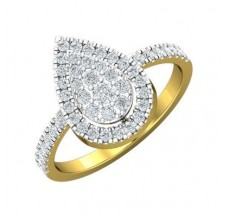Diamond Ring 0.58 CT / 3.05 gm Gold
