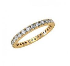 Eternity Diamond Band 1.08 CT / 1.75 gm Gold